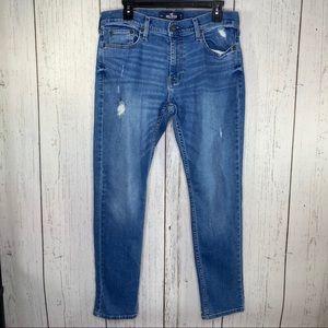 Hollister woman's jeans blue 32x30